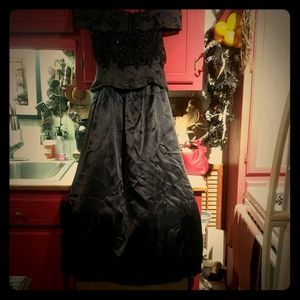 Vintage Black Roberta Evening Gown